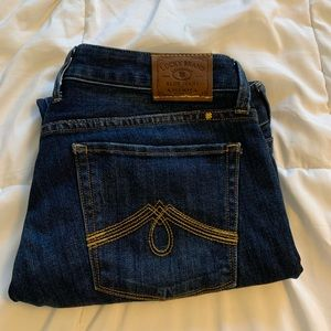 Lucky Brand Jeans Lola Crop
